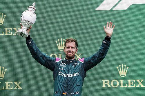 Aston Martin zet door met protest en vecht diskwalificatie Vettel aan