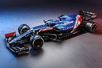 """アルピーヌF1""""初代""""マシンA521が発表。ブルー基調の美しいカラーリングを纏う"""