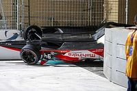 Diriyah E-Prix: Bird wins, Lynn hospitalised after crash