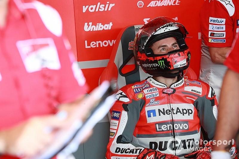 Ducati разрешит Лоренсо провести тесты с Honda в конце сезона