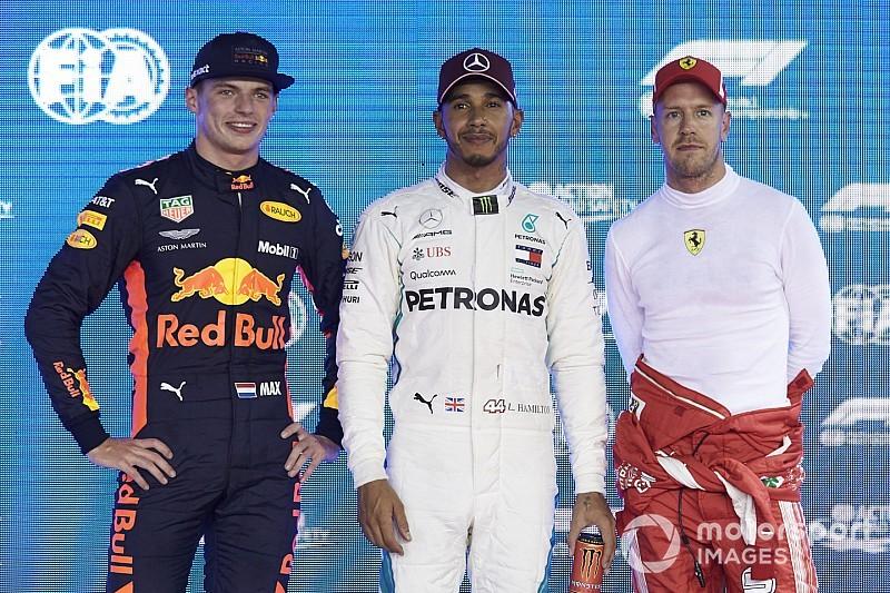Horner: C'est Verstappen que Hamilton et Vettel