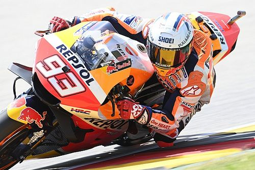 """Marquez """"can't think about"""" continuing German MotoGP win streak"""