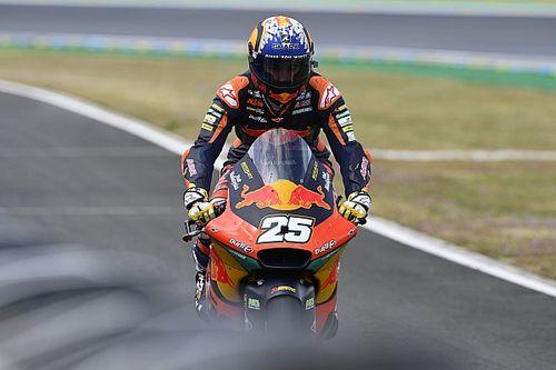 Moto2: Raul Fernandez in pole a Le Mans davanti a Bezzecchi