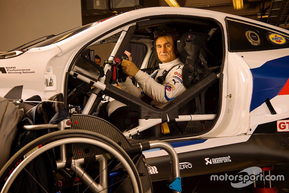 "Zanardi ""not so far behind"" BMW teammates at Daytona"