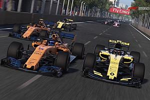 Thrustmaster F1 2018 PS4 Legends eSpor Ligi: İtalya GP'si Motorsport.com Türkiye'de!