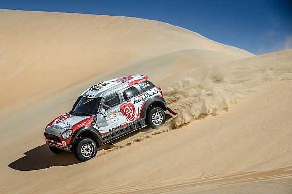 كروس كاونتري مشكلة في علبة التروس تُجبر القاسمي على إنهاء رالي أبوظبي الصحراوي في المركز السابع