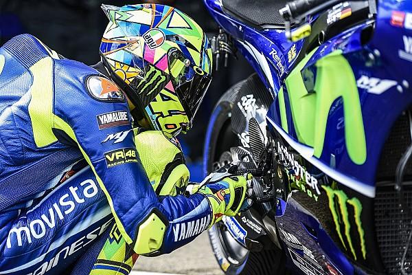 Rossi estrenará un nuevo diseño de casco en 2018