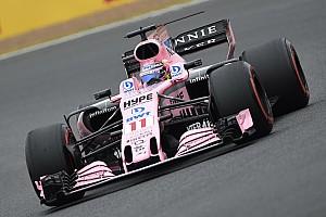 F1 Noticias de última hora Sergio Pérez remonta en calificación en Silverstone