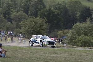 ERC Prova speciale Zlín, PS13-14: Kopecký ad un passo dal successo, lotta aperta per il podio