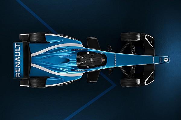 Photos - Renault e.dams présente la livrée de la Z.E.17
