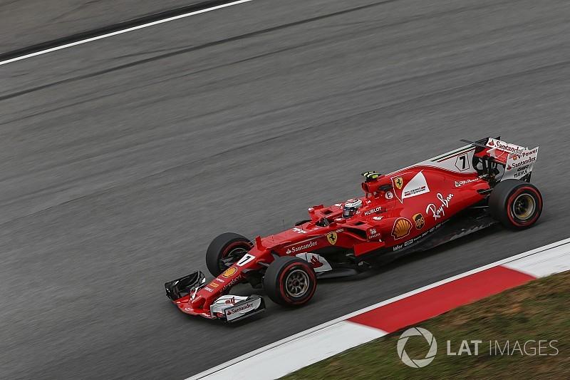 Raikkonen lidera TL3 em novo domínio da Ferrari na Malásia