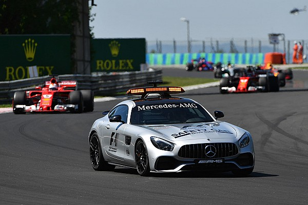 Formula 1 Breaking news F1's safety car could become driver-less in the future