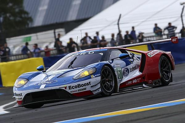 Ferrari-rijder Bird wantrouwt gebrek aan snelheid van Ford in Le Mans