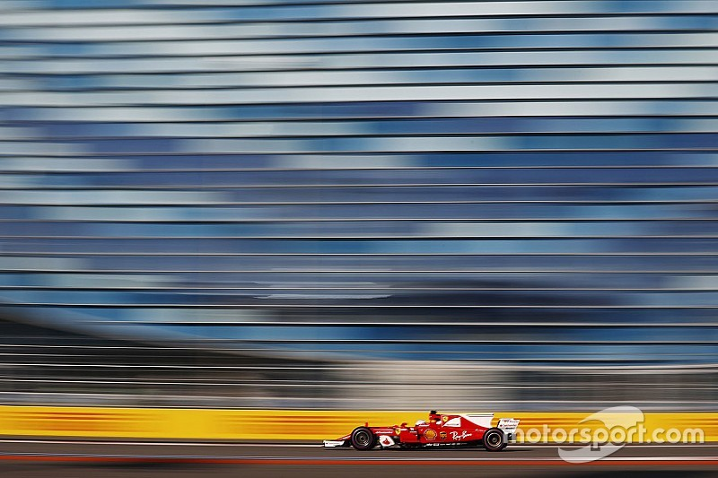 俄罗斯大奖赛FP3:法拉利再次包揽前二名
