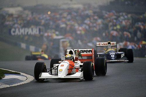 Cuando Ayrton Senna se sintió imparable en Donington en 1993