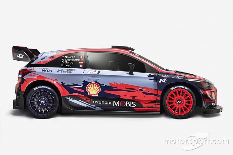 WRC teams reveal liveries for 2019 season