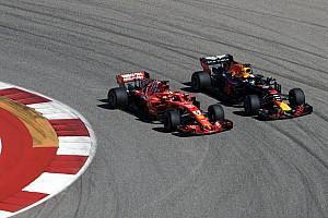 Ricciardo, Vettel'in sürüşünde yanlış bir şey yok