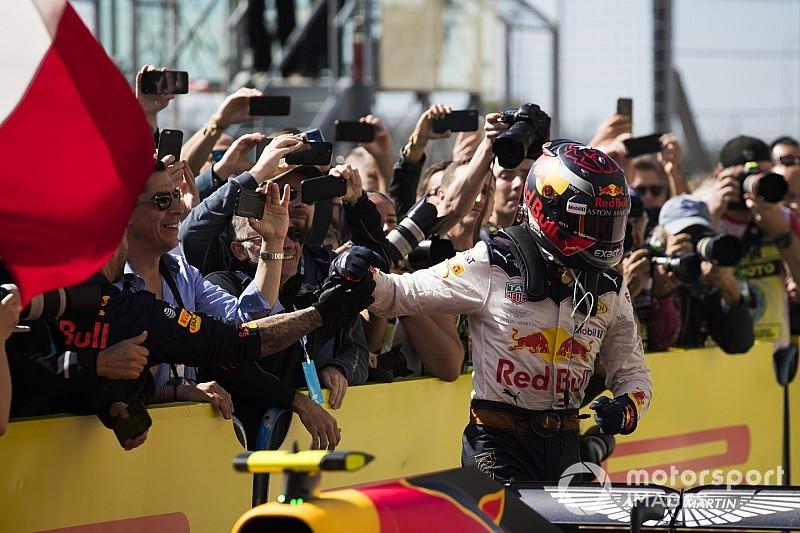 Red Bull : Verstappen