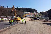 Spa-Francorchamps toont rallycrossomloop en renovatiewerken
