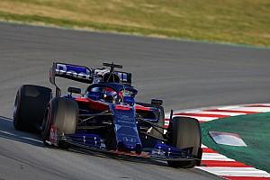 Test F1 Barcellona, Giorno 3: Honda in paradiso grazie a Kvyat e la Toro Rosso