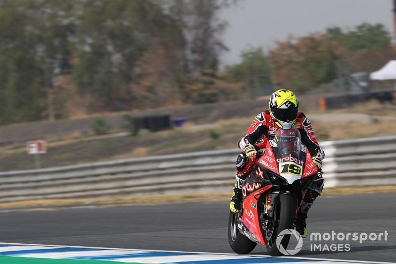 """Bautista padrone del venerdì: """"Anche a Buriram Ducati conferma un grande potenziale"""""""