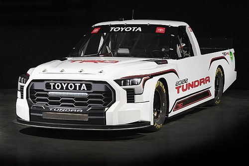 Toyota unveils new look for NASCAR Truck in 2022