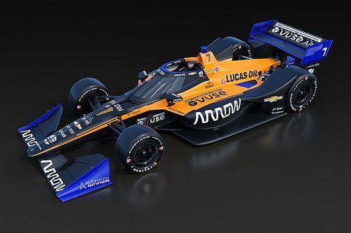 VIDEO: Arrow McLaren SP presentó su decoración 2020 con O'Ward