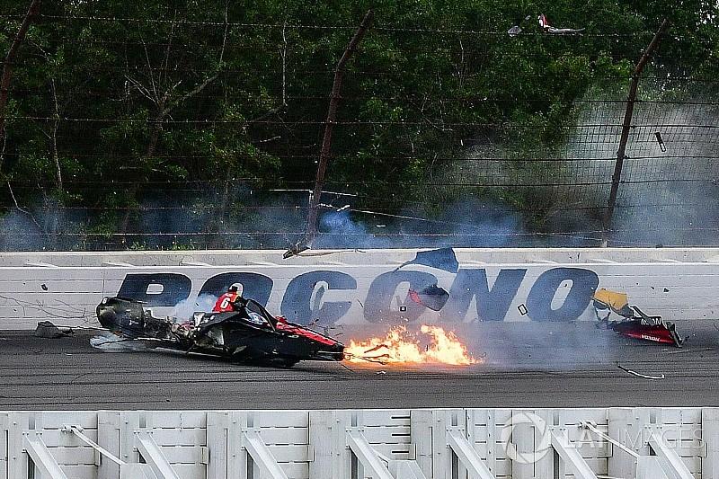 Гонщику Indycar Вікенсу проведуть операцію після аварії на Поконо