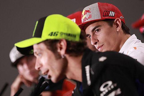 "Rossi: ""Cuando vuelva, Márquez será tan competitivo como antes"""
