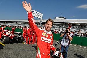 ベッテル、フェラーリのイベントで母国のファンを魅了