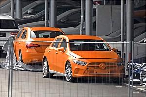 Automotive News Neue Mercedes A-Klasse 2018 ungetarnt!