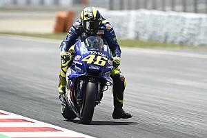 MotoGP Réactions Rossi pressent