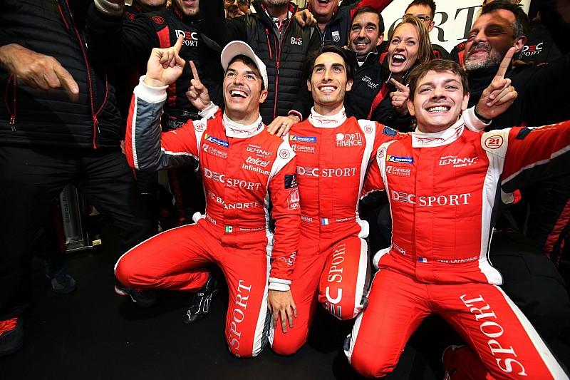 Rojas sorprendido por la pole en Le Mans