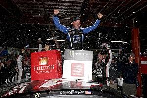 NASCAR Cup Race report Clint Bowyer wins rain-shortened Michigan race; SHR 1-2-3