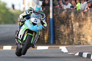 Road racing Qualifying report Isle of Man TT: Harrison and Dunlop top first qualifying runs