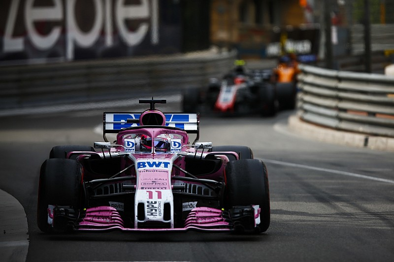 Force India, yeni ön kanadı en geç Fransa'da kullanmayı planlıyor