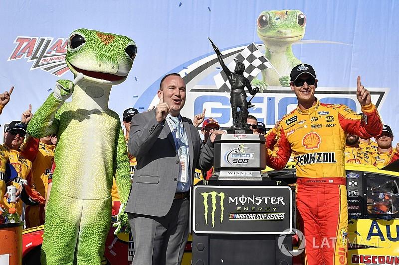 NASCAR Cup Series: Logano torehkan kemenangan perdana musim ini