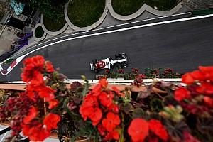 Formule 1 Diaporama Diaporama : l'Alfa Romeo Sauber dans le Grand Prix d'Azerbaïdjan