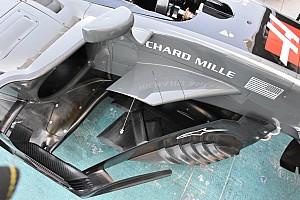 Formula 1 Analisi Haas: ci sono due tagli sull'ala a delta per rispettare il regolamento!