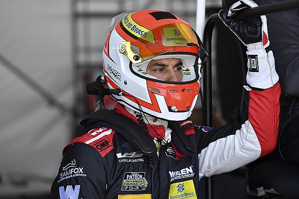 Felipe Nasr au départ des 24 Heures du Mans