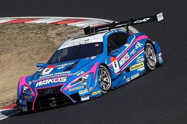 Lexus dominates first Super GT test day, Button sixth