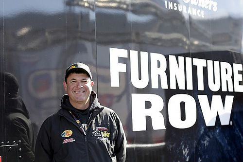 Eye in the Sky: Clayton Hughes enjoys winning with Martin Truex Jr.