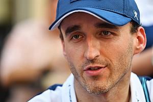 Williams annuncia Robert Kubica come terzo pilota per il 2018