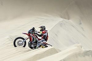 Dakar Rapport d'étape Motos, étape 2 - Barreda et Van Beveren font la loi