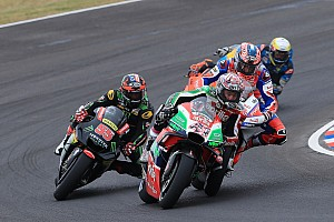 MotoGP Breaking news Espargaro in Twitter spat with Pramac over Petrucci clash