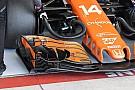 Formula 1 McLaren: ecco l'ala anteriore di Alonso con tanti soffiaggi in più