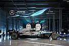 Mercedes presentó oficialmente su W09