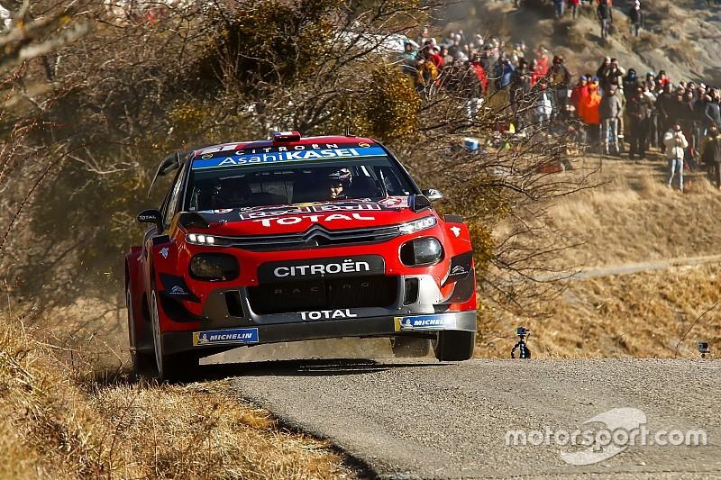 Monte Carlo WRC: Ogier leads as Mikkelsen, Evans crash out