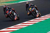 """Il duo Sky Racing Team VR46 comanda a Misano: """"Ci siamo divertiti"""""""
