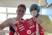 23-летний гонщик вылечился от коронавируса. Вот его история